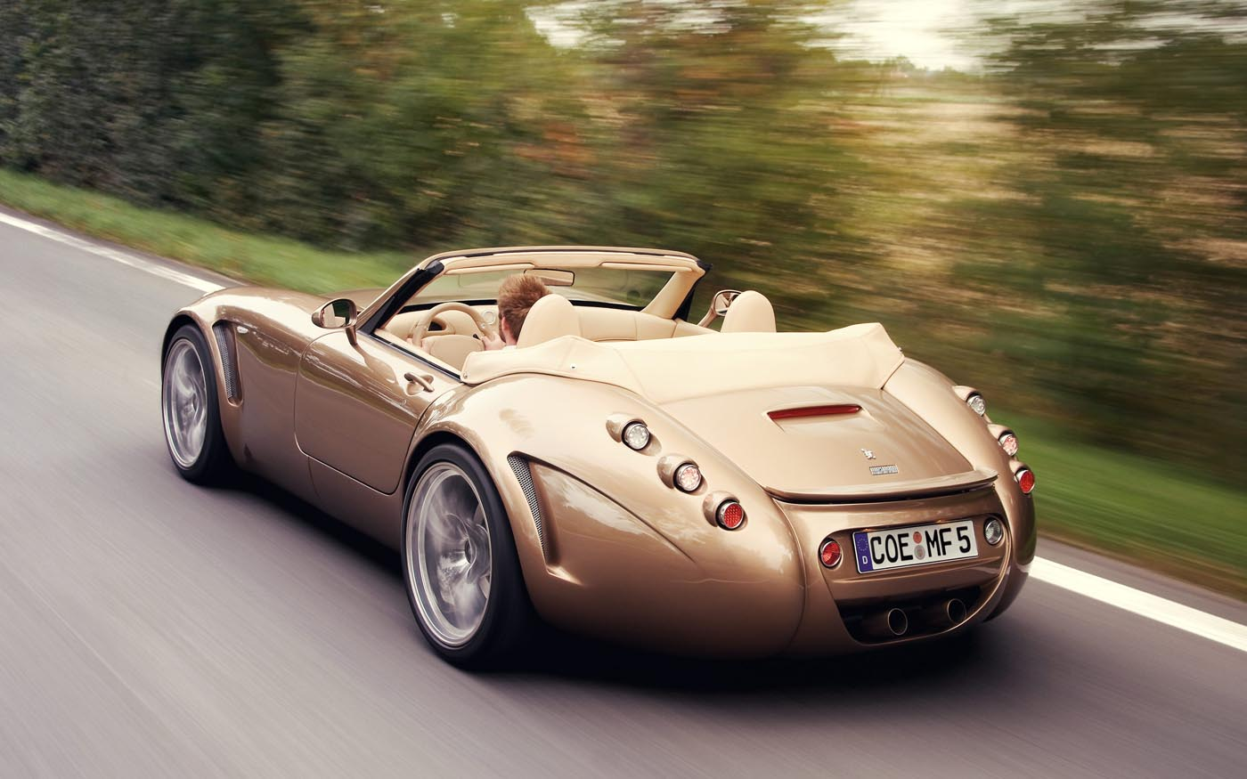 Wiesmann Mf Roadster on Fiat V8 Engine