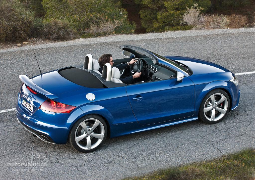 audi tt rs plus roadster specs 2013 2014 autoevolution