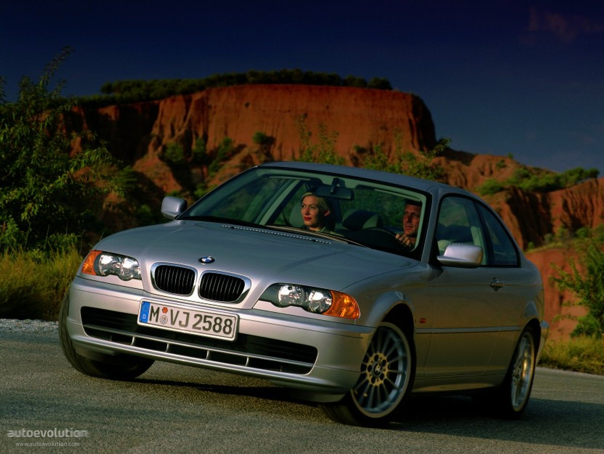 Bmw 3 series coupe e46 1999 2003