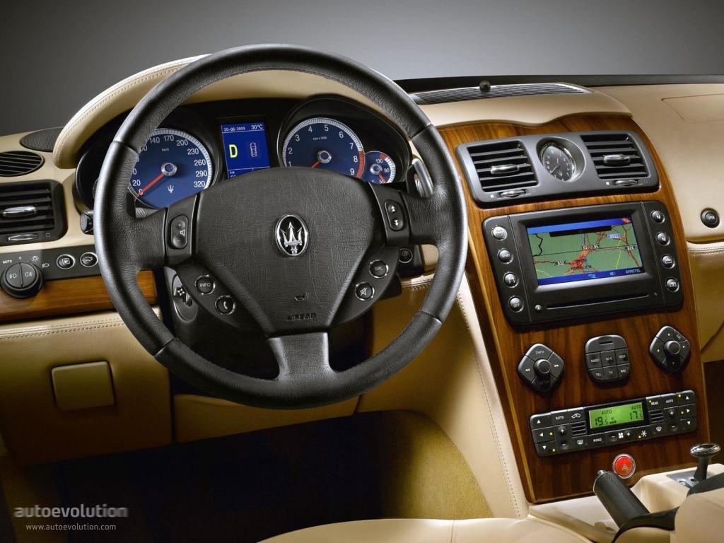 Maserati Quattroporte V on Bentley V8 Engine