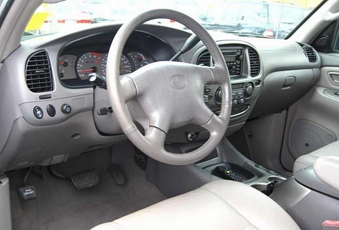 Interior Pics Of 2000 Toyotas Sequoia National Autos Weblog