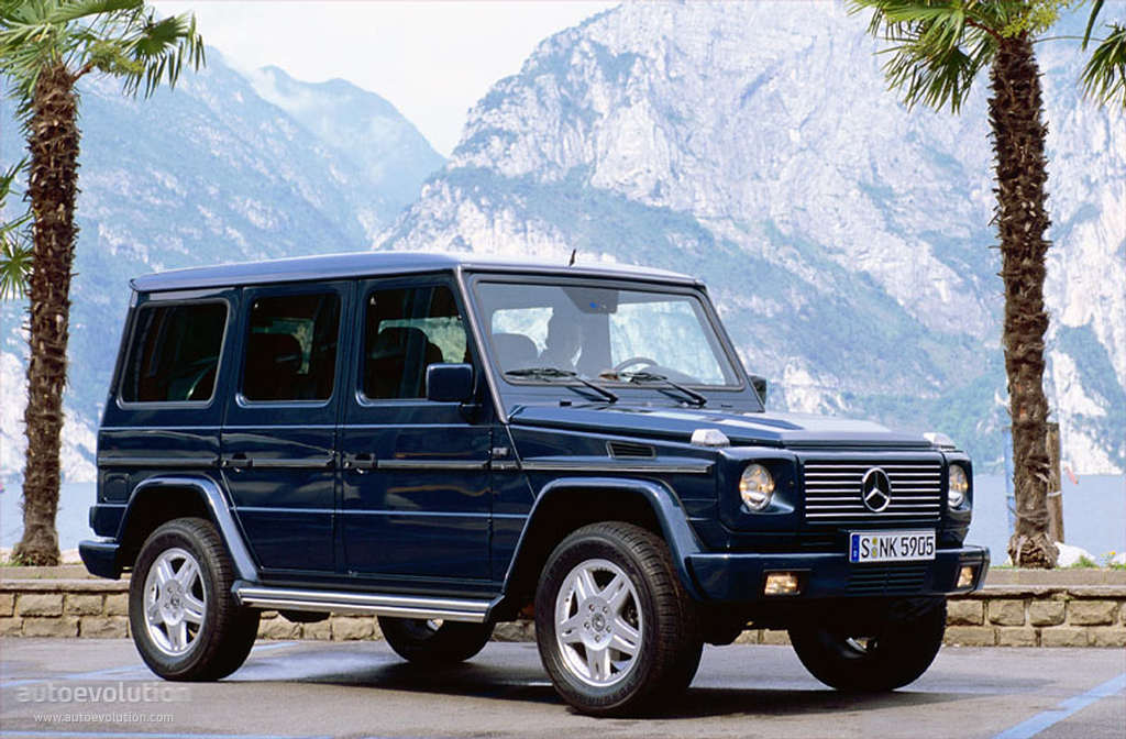 5e0667911d MERCEDES BENZ G-Klasse specs   photos - 2000