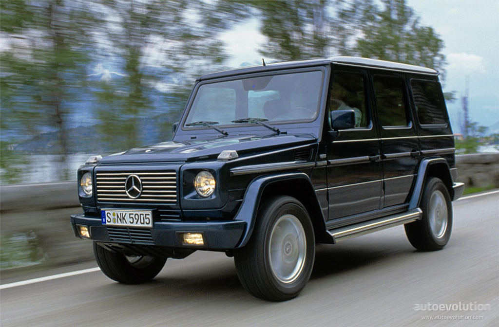 Mercedes benz g klasse specs 2000 2001 2002 2003 for Mercedes benz suv 2001