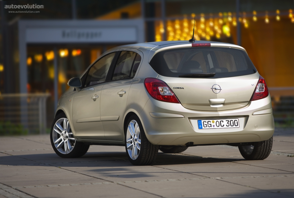 2010 Opel Corsa 5 door photo - 1
