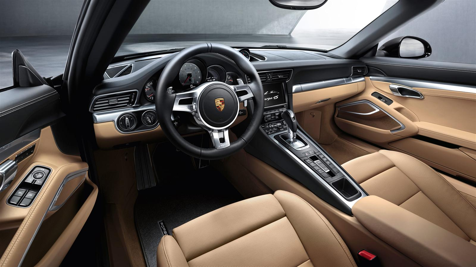 Porsche 911 carrera targa 4s 991 specs 2014 2015 for Porsche 911 interieur