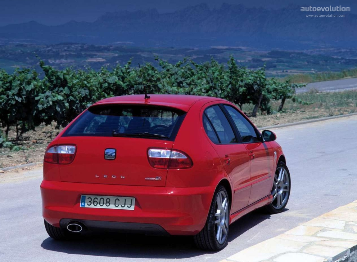 Seat Leon Cupra R 2002 on evolution engine