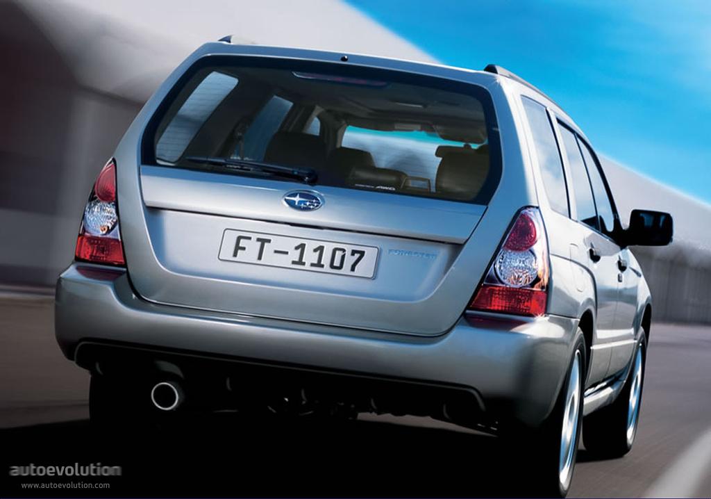 Subaru Forester Specs Photos 2005 2006 2007 2008 Autoevolution