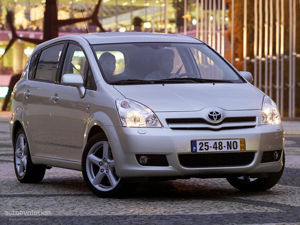 Toyota Corolla Verso Specs Photos 2004 2005 2006 2007
