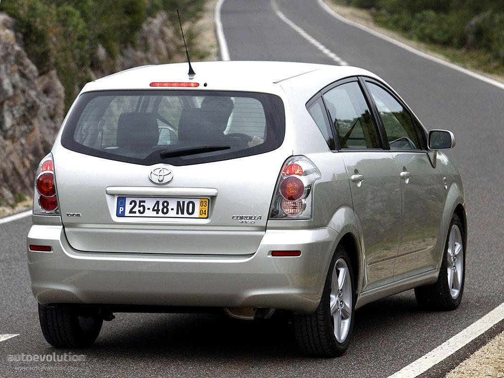 toyota corolla verso specs - 2004, 2005, 2006, 2007 - autoevolution