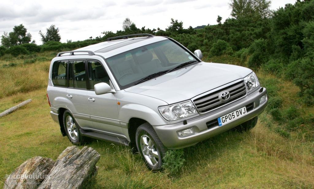 Toyota Land Cruiser 100 2002 2003 2004 2005 2006