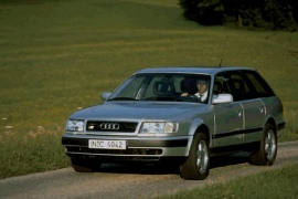 1991 Audi 100 Blue   200  Interior and Exterior Images