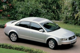 AUDI A4 models and generations timeline, specs and pictures