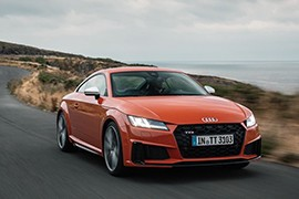 AUDI TT Coupe models and generations timeline, specs and pictures