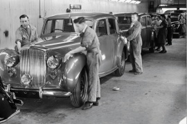 BENTLEY Mk VI Saloon (1946 - 1953)