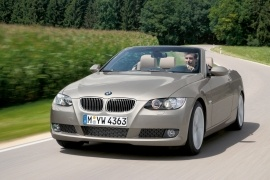 BMW 3 Series Cabriolet (E93) (2007 - 2010)