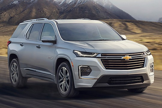 Chevrolet Traverse Models And Generations Timeline Specs And