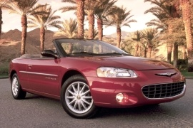 CHRYSLER Sebring Convertible (2001 - 2003)