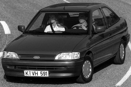 FORD Escort 3 Doors (1990 - 1992)