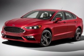 Ford Fusion North American 2016 2018