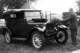 1926 ford model t curb weight