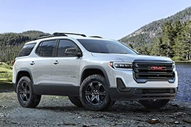 Gmc Acadia Models And Generations Timeline Specs And Pictures By Year Autoevolution