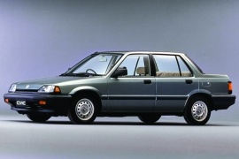 HONDA Civic Sedan (1987 - 1991)