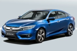 Honda Civic Sedan 2016 2018