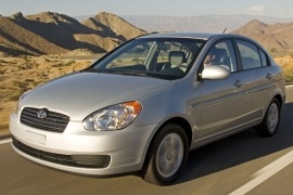 HYUNDAI Accent 4 Doors (2006 - 2011)