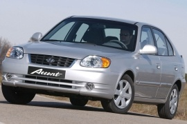 HYUNDAI Accent 5 Doors (2003 - 2006)