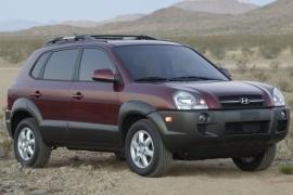 Santa Fe Suv >> HYUNDAI Tucson (2004 - 2009)