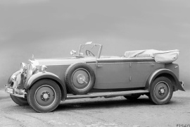MAYBACH Typ W5 SG 27/120 HP (Open Body) (1928 - 1929)