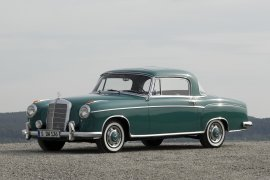 "MERCEDES BENZ ""Ponton"" Coupe (W180/128) (1956 - 1960)"