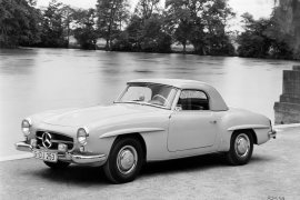 MERCEDES BENZ Typ 190 SL Coupe (W121) (1955 - 1963)