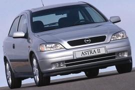 Opel Astra 3 Doors 1998 2004