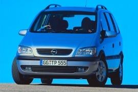Opel Zafira Specs Photos 1999 2000 2001 2002 2003