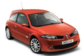 RENAULT Megane RS Coupe (2006 - 2009)