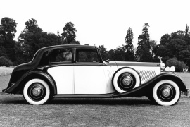 ROLLS ROYCE Phantom II Continental Sports Saloon by Barker (1930 - 1936)