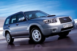 SUBARU Forester models and generations timeline, specs and