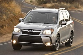 SUBARU Forester models and generations timeline, specs and pictures
