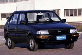 SUBARU Justy 5 doors (1989 - 1996)