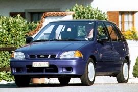 Subaru Justy 5 Doors 1997 2003