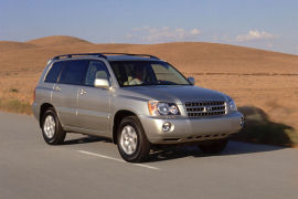 Toyota Highlander 2001 2006
