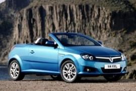 Vauxhall Tigra Twintop Blue With Öffnendem Roof 2 Generation 2004-2009 1//43