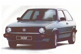 VOLKSWAGEN Golf II 3 doors (1983 - 1992)