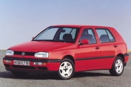 VOLKSWAGEN Golf III 5 Doors (1992 - 1997)