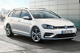 Vw Golf 7 Variant >> Volkswagen Golf Vii Variant Specs Photos 2017 2018