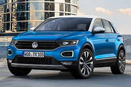 volkswagen t roc specs photos 2017 2018 autoevolution. Black Bedroom Furniture Sets. Home Design Ideas