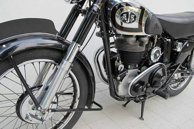 500 Gallon Fuel Tank >> AJS Model 18 500 specs - 1945, 1946, 1947, 1948, 1949 ...