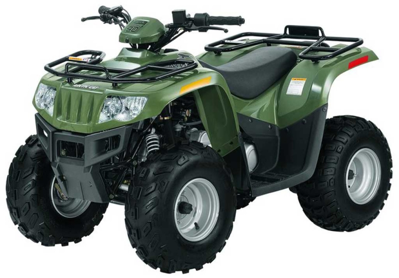 Arctic Cat 90 2x4 Automatic Specs - 2007  2008
