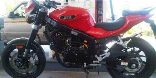 Motorcycle Pictures: ATK GT 250 R 2011
